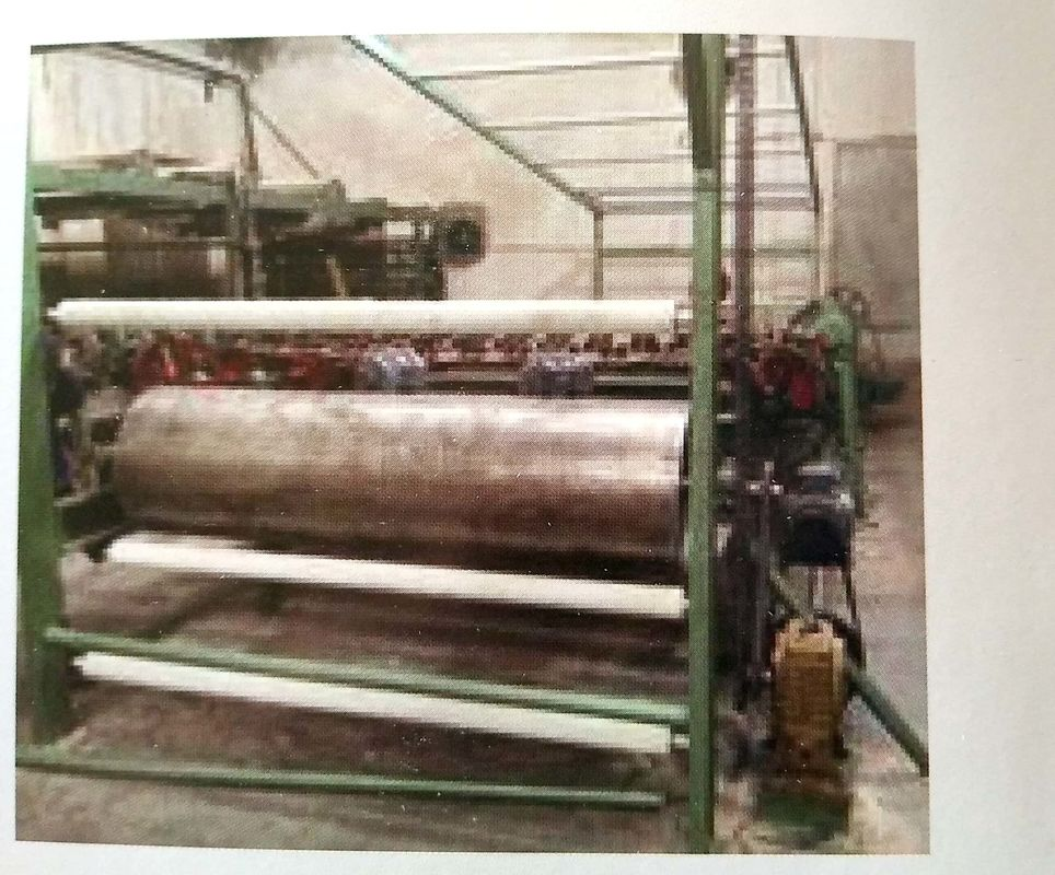 Horizontal Fabric Brushing Machine Equipment Used In Textiles Wear Resistance