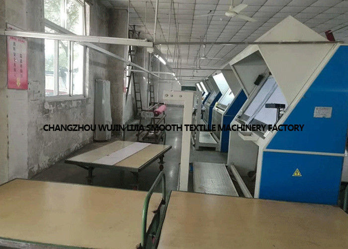 Industrial Fabric Winding Machine / Fabric Inspection Machine PLC Control