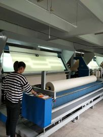 Fully Automatic Fabric Checking Machine With Rollers 1.5kw Main Motor Power